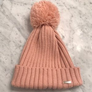 Light pink Calvin Klein beanie